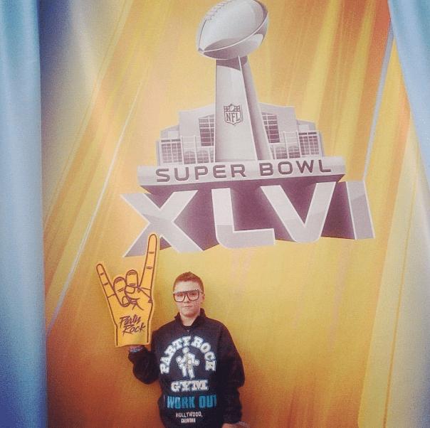 Rocco en la Super Bowl