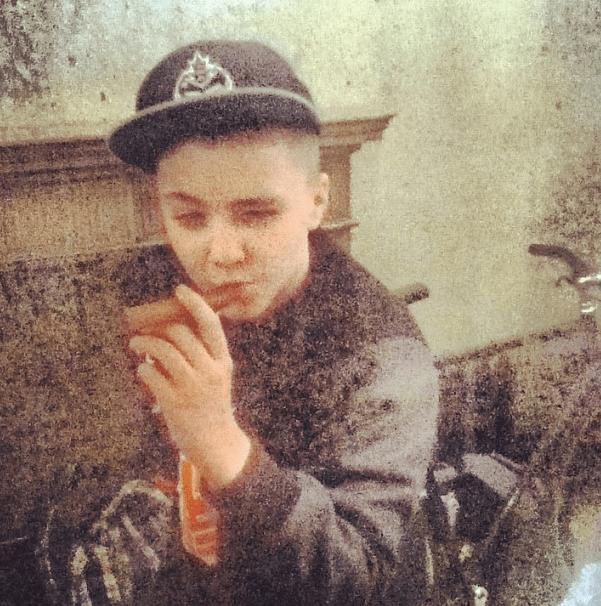 Rocco con un puro