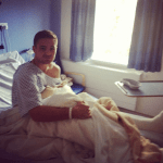 Robbie Rogers en el hospital