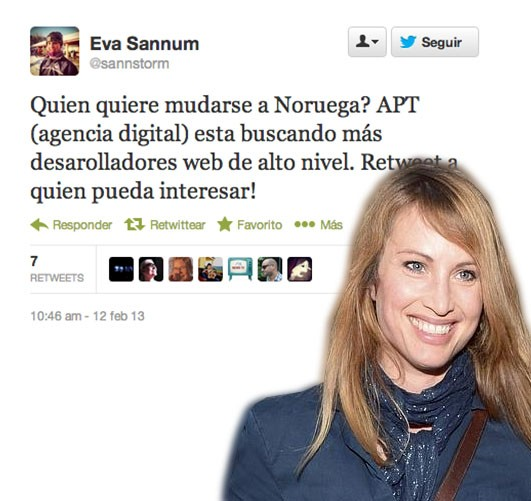 Eva Sannum Twitter