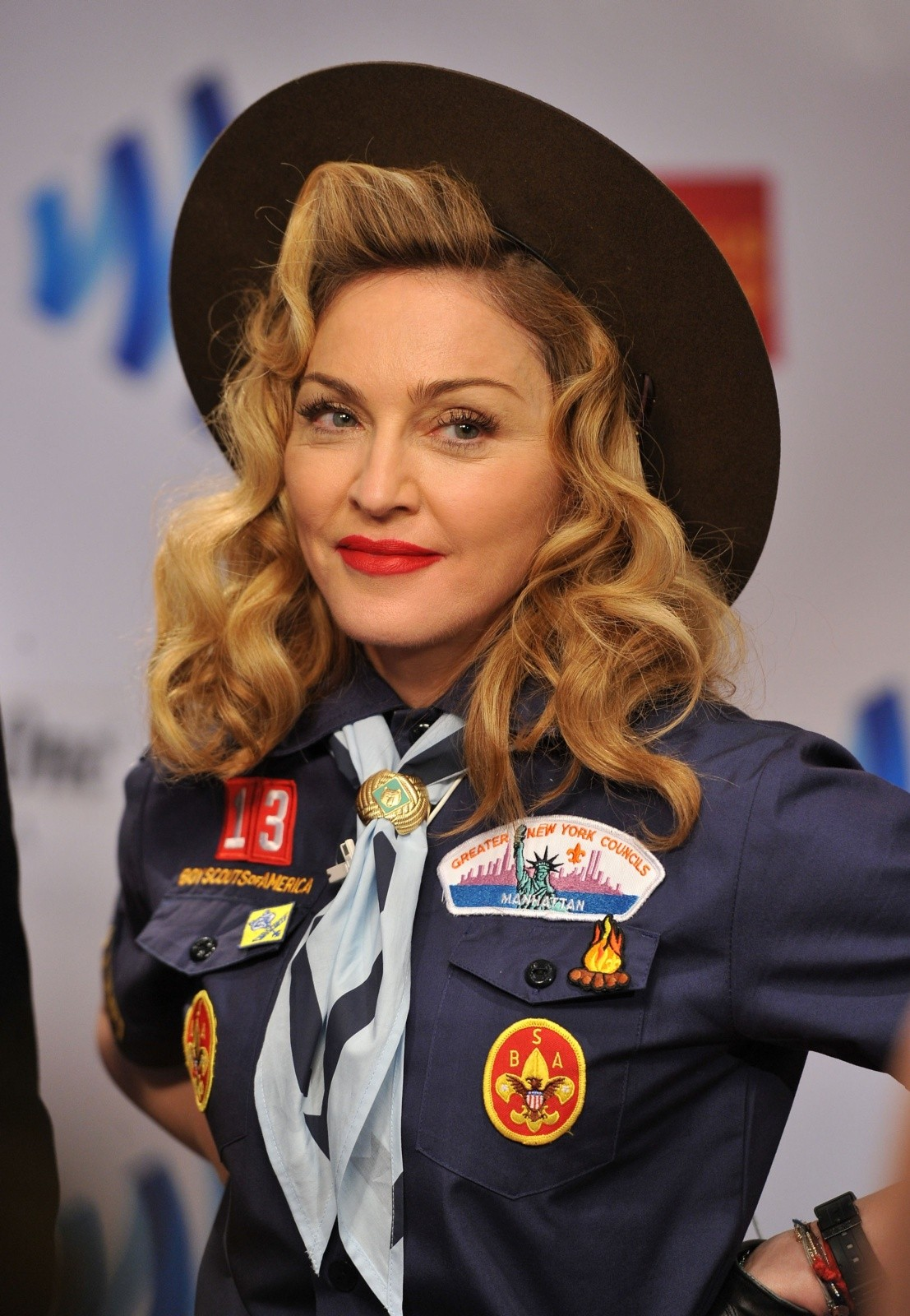 Madonna Boy Scout Glaad Awards Anderson Cooper