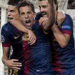 Jordi Alba sin camiseta