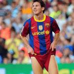 El paquete de Messi