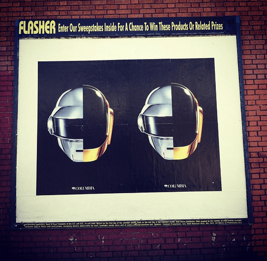 Anuncios Daft Punk