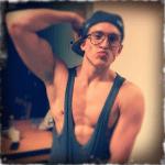 Danny Saucedo shirtless