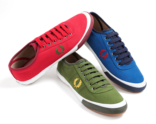 Fred Perry Woodford Canvas