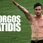 Giorgos Katidis sin camiseta
