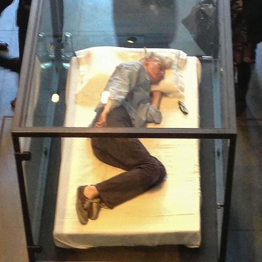 Tilda Swinton MoMA de Nueva York