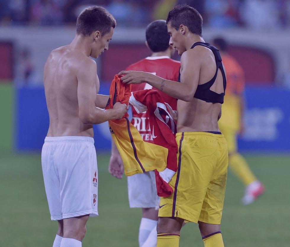 Cristian Tello Sin Camiseta