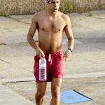 Martín Rivas sin camiseta