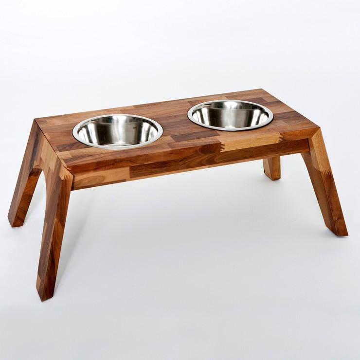 Comederos de madera para perros y gatos amenzing for Comederos para perros