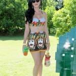 Katy Perry con su piñita