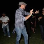 Leonardo DiCaprio bailando borracha