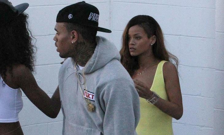 Rihanna vuelve con Chris Brown