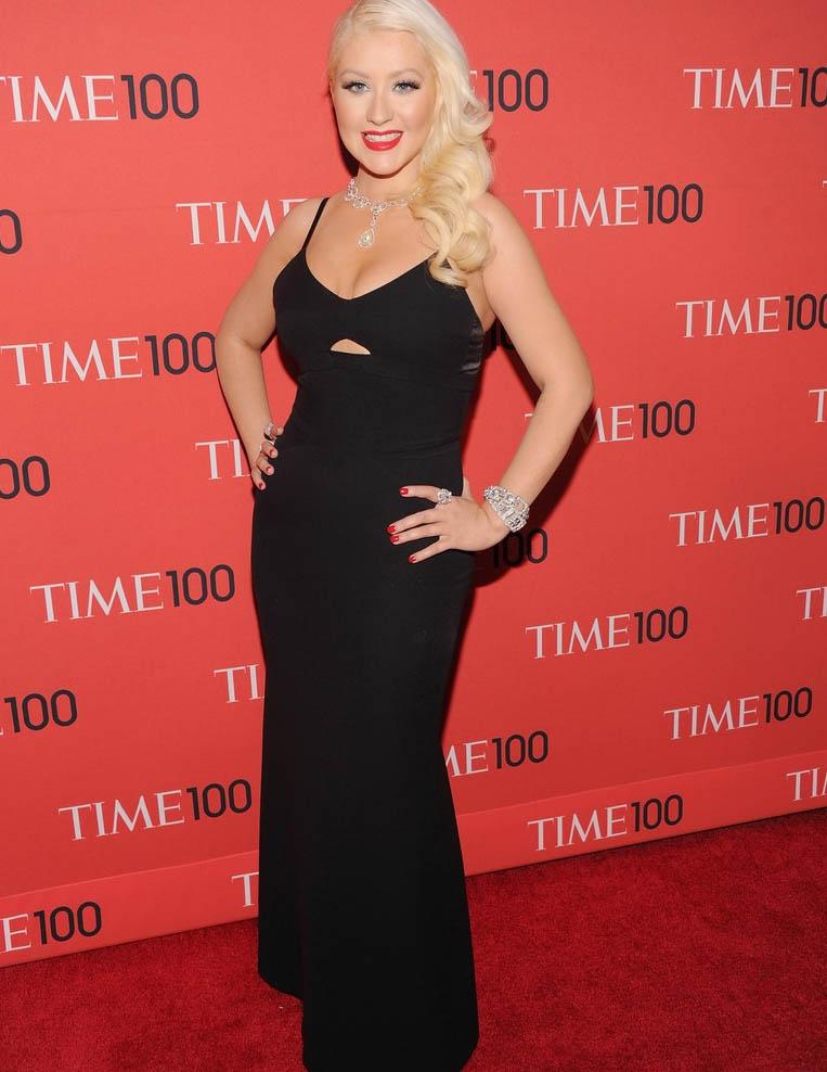 Christina Aguilera Time 100 Gala 2013