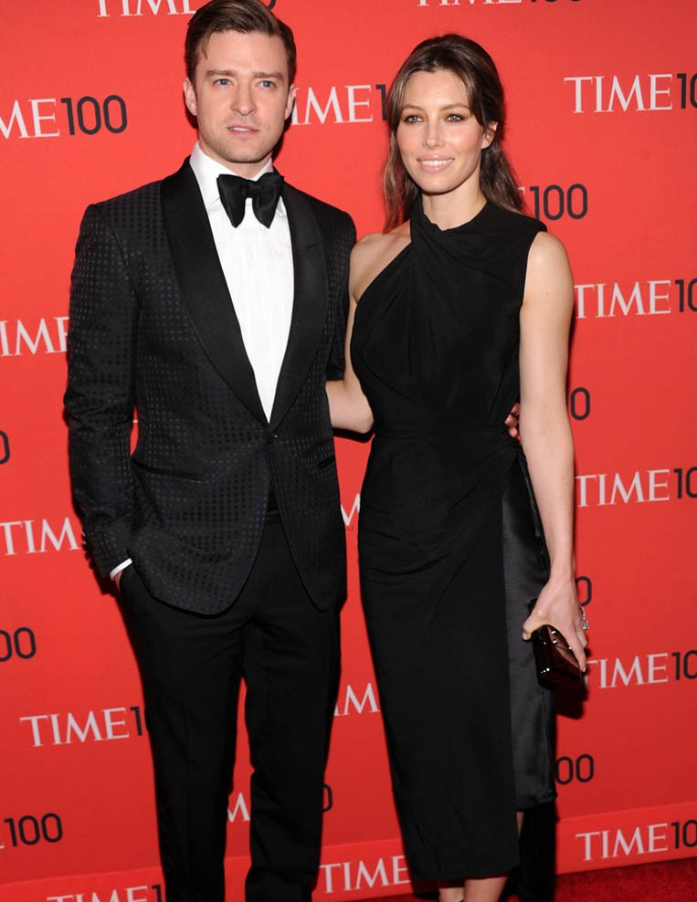 Justin Timberlake Jessica Biel Time 100 Gala 2013