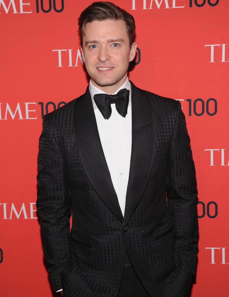 Justin Timberlake Time 100 Gala 2013