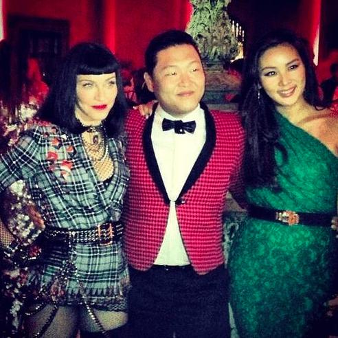 Psy y Madonna Met Ball 2013