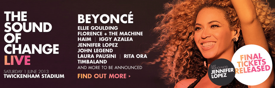 Madonna Beyonce Chime For Change