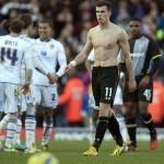 Gareth Bale sin camiseta