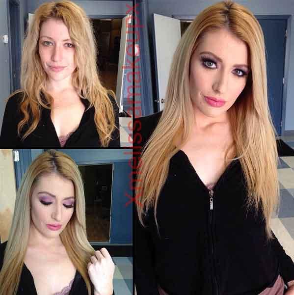 Actrices porno sin maquillar