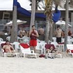 Los jugadores de la Roja en Brasil