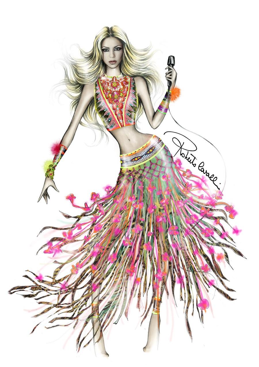 Shakira Roberto Cavalli
