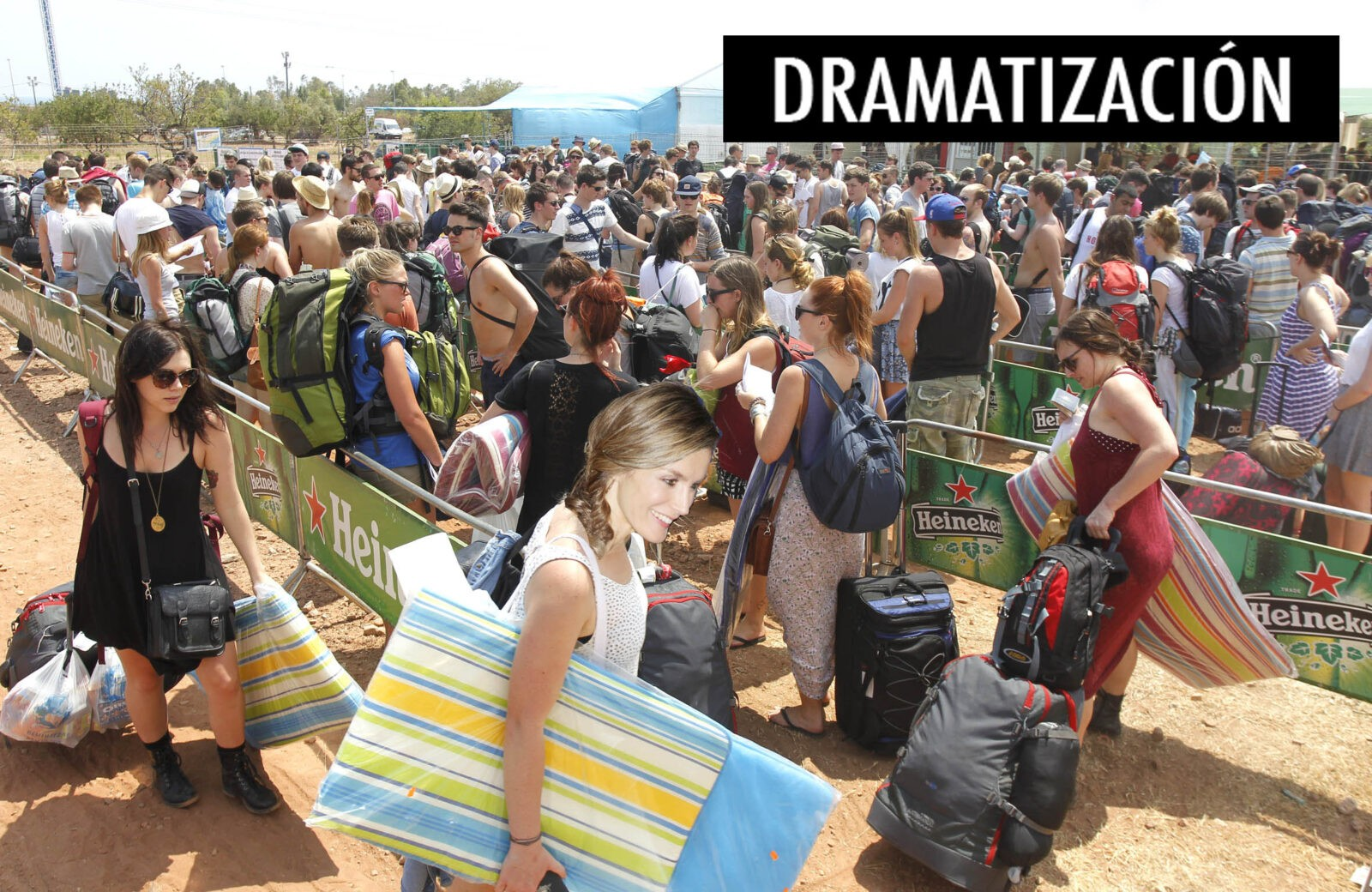 Fotos Letizia Ortiz en el FIB