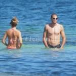 Victor Valdes y su novia en Ibiza