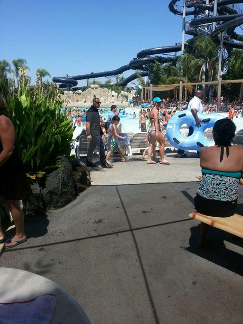 Britney Spears SoCal Water Park