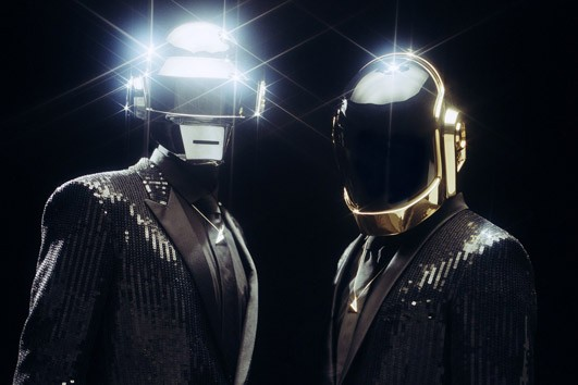Daft Punk sin cascos