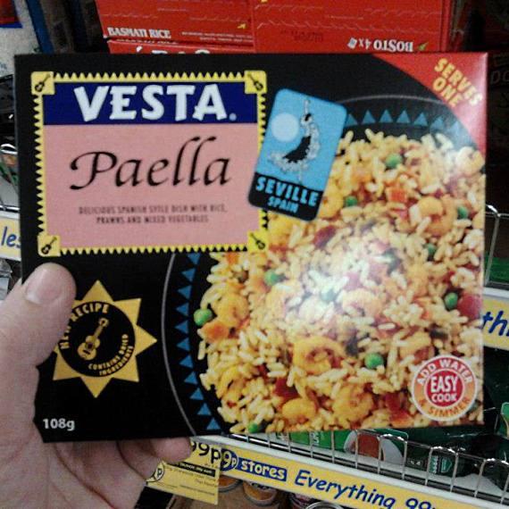 """Paella de """"Sevilla"""""""