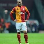 Wesley Sneijder trío