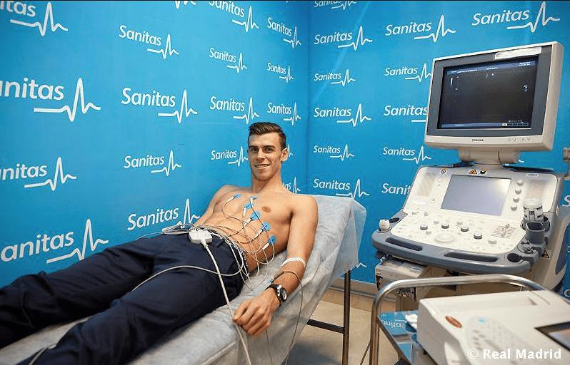 Bale sin camiseta