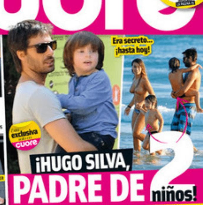 Hugo Silva padre de mellizos