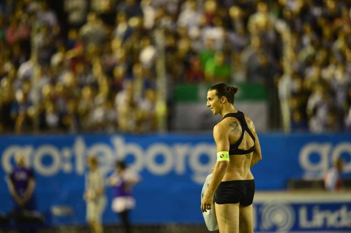 Ibrahimovic en bikini