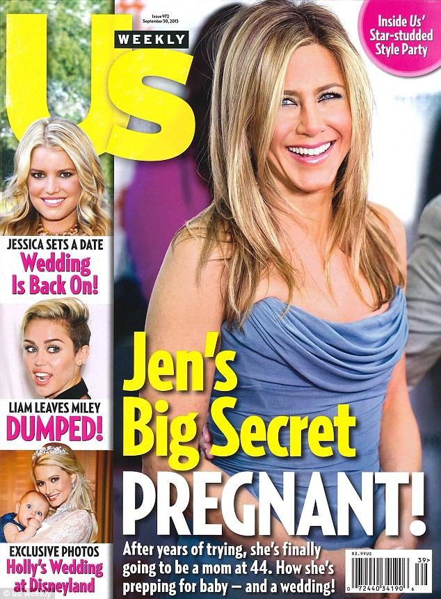 Jennifer Aniston embarazada
