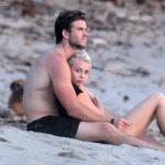 Miley Cyrus y Liam, en las últimas