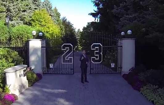 Michael jordan vende su casa en este v deo amenzing - La casa de michael jordan ...
