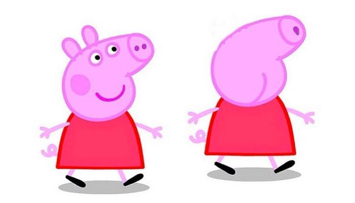 Peppa Pig o Peppa Dick?