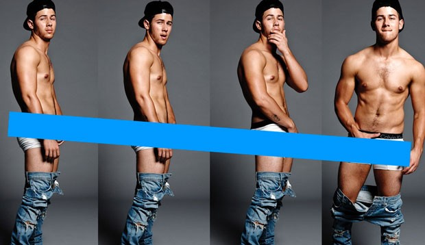 Nick Jonas en la revista Flaunt