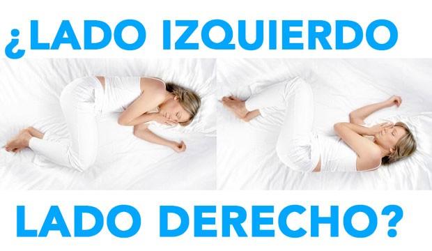 ¿De qué lado es mejor dormir?