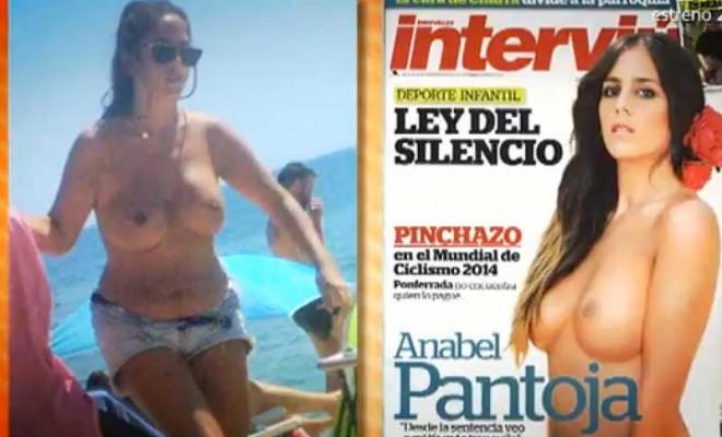 Anabel Pantoja en topless