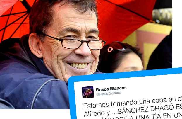 Sánchez Dragó en Twitter
