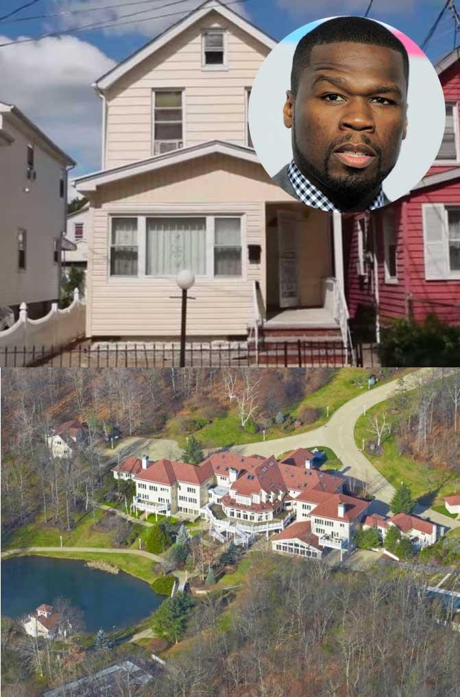 Las casas de los famosos cuando pasaron de pobres a millonarios amenzing - Casas de millonarios ...