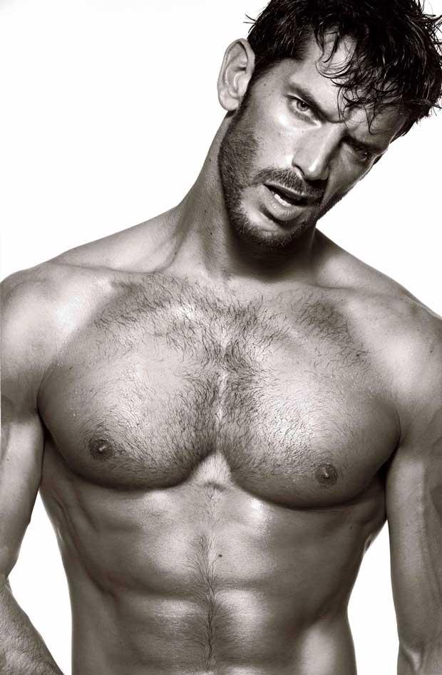 Oliver Baggerman desnudo
