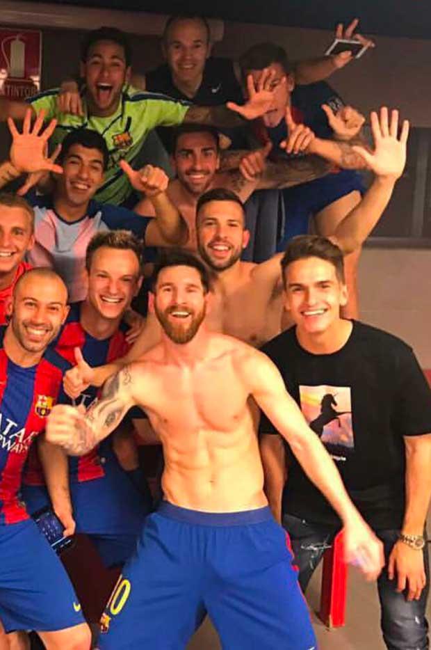 Paquete de Messi