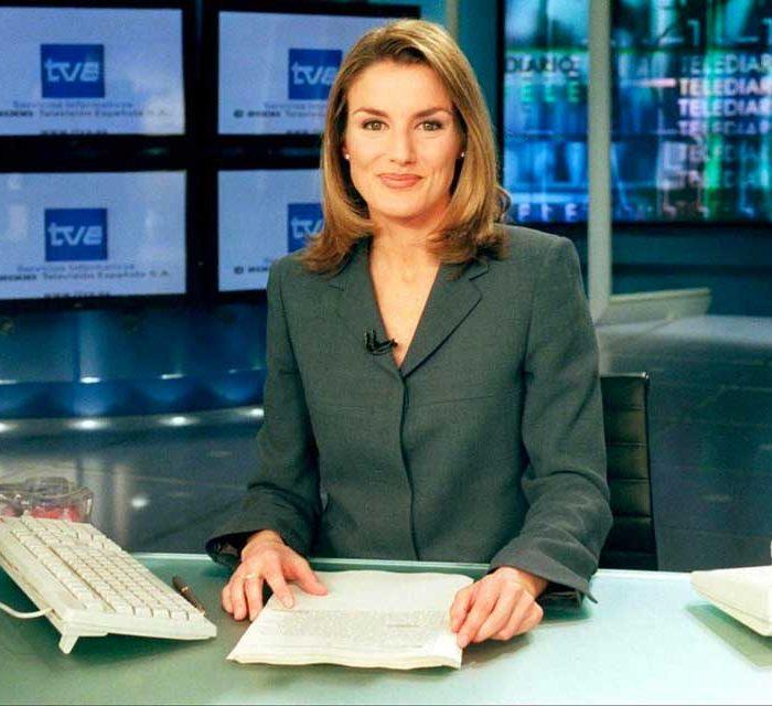 Letizia Ortiz en el Telediario