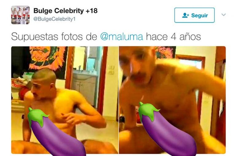 ¿Maluma desnudo?