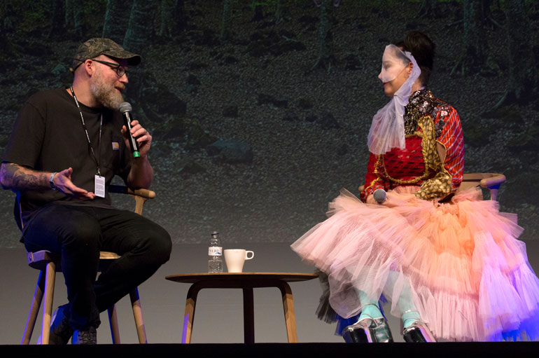 Björk en Sónar Barcelona 2017